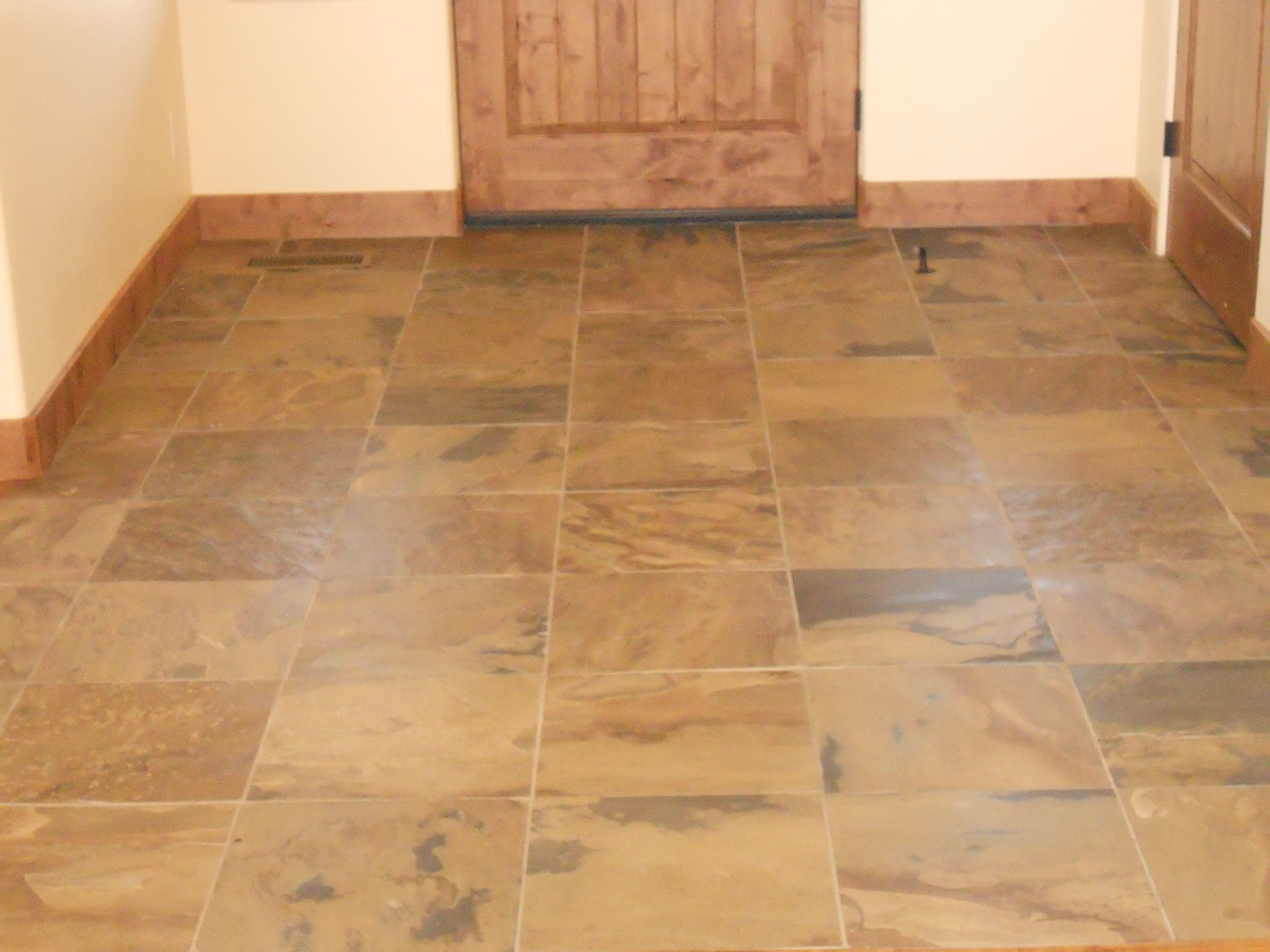 Tile floor by Mingus Tile in Prescott, AZ. Tile floor