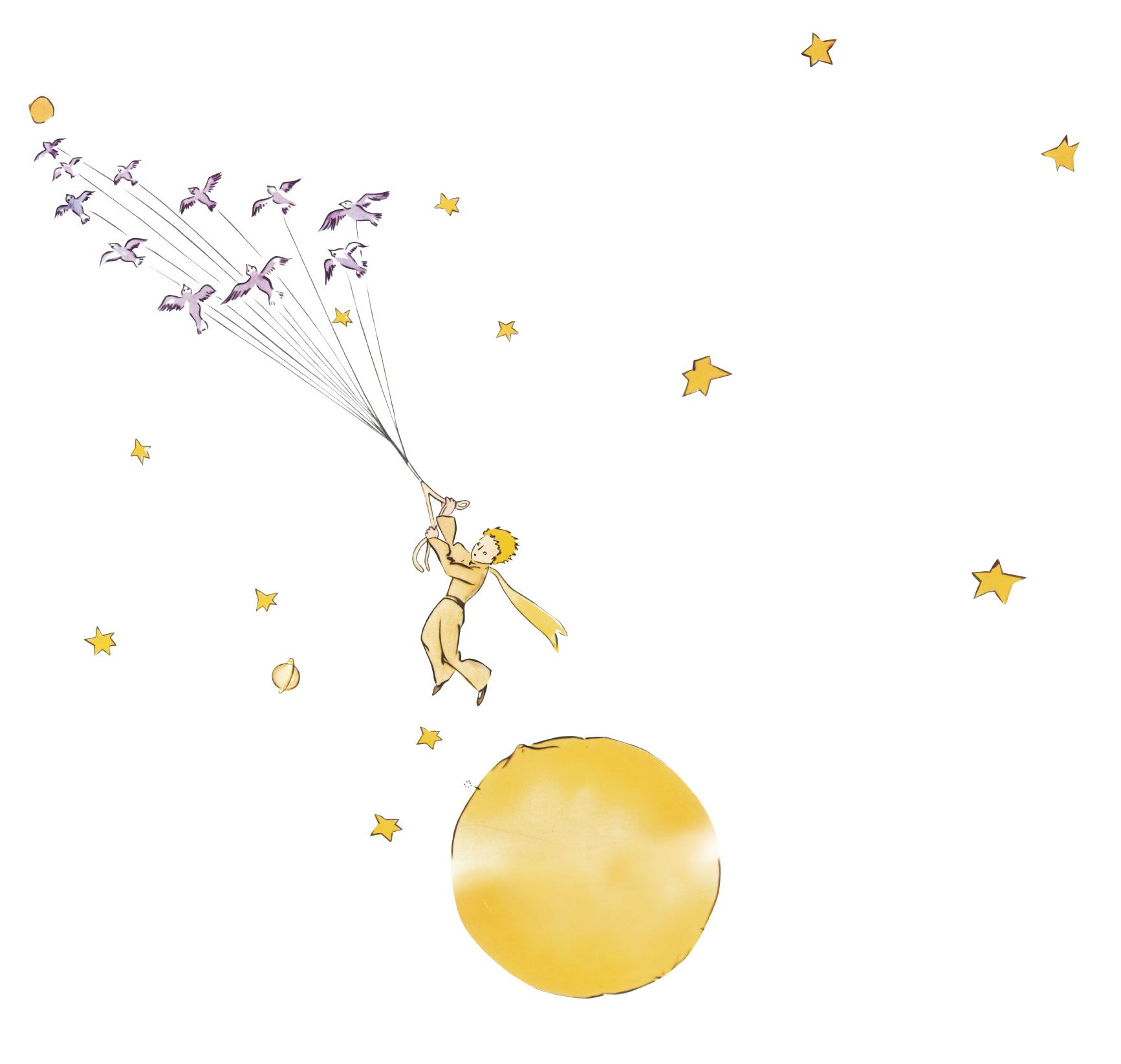 The Little Prince Uploaded By Vytaa On We Heart It: Little Prince Exupery Quotes. QuotesGram
