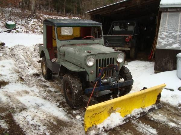 1953 cj3b westernma1 willys jeep pinterest jeeps snow plow and jeep cj. Black Bedroom Furniture Sets. Home Design Ideas