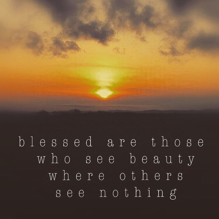 Sunset Quote Love Colour Beauty Blessed Truth Painting