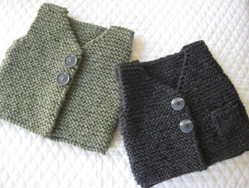 Bebeknits Simple French Style Toddler Body Warmer/Vest ...