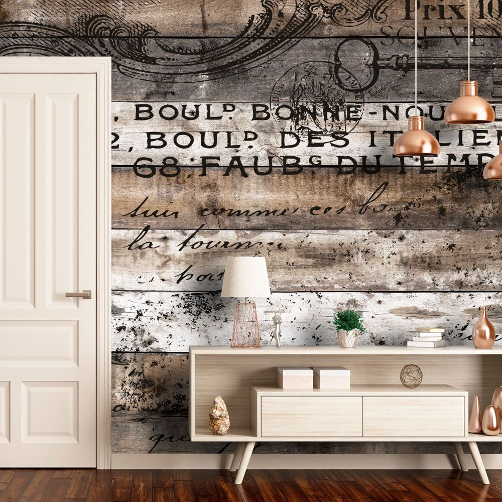 details zu vlies fototapete holzoptik vintage tapete holz bretter wandbild xxl f c 0152 a a. Black Bedroom Furniture Sets. Home Design Ideas