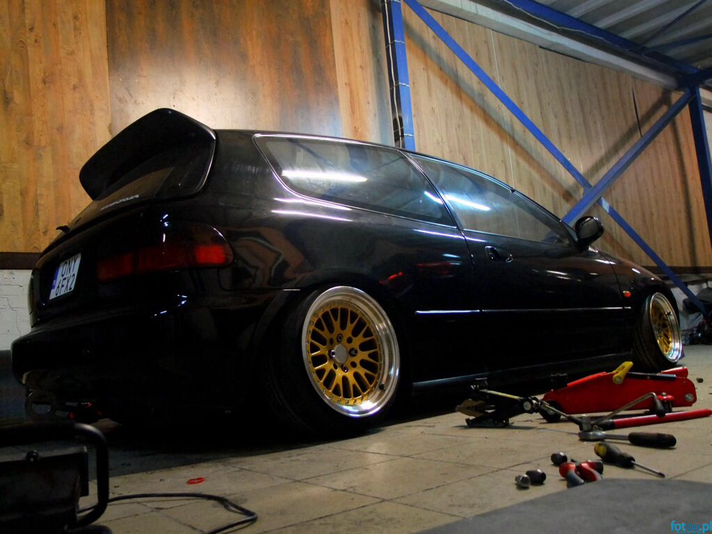 Form Over Function stanced civic eg3skiper | in progress fs☆pl- form over