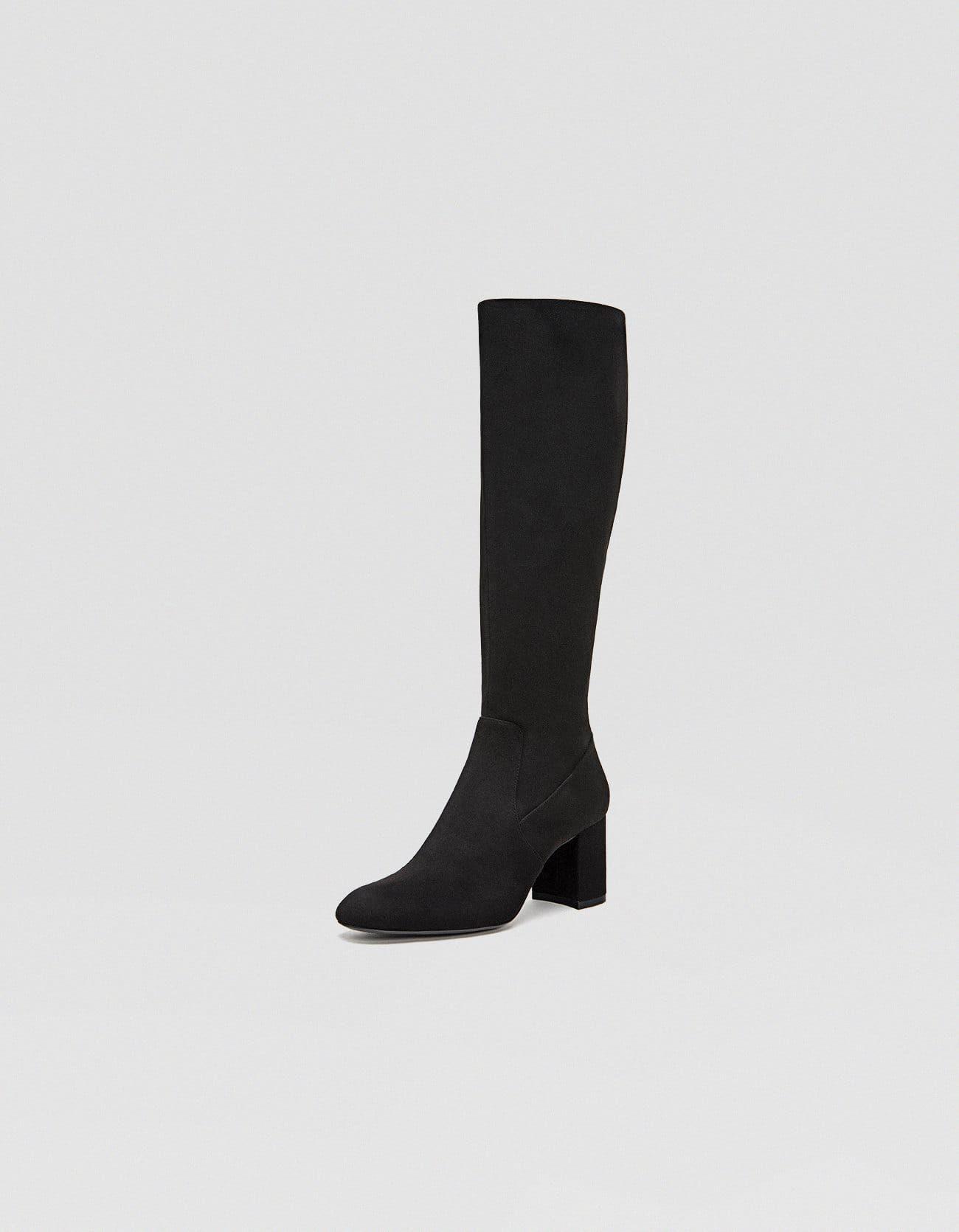 comprare on line aceb3 c9193 Stivali neri con tacco | Stivali, Stivali neri e Stivali con tacco