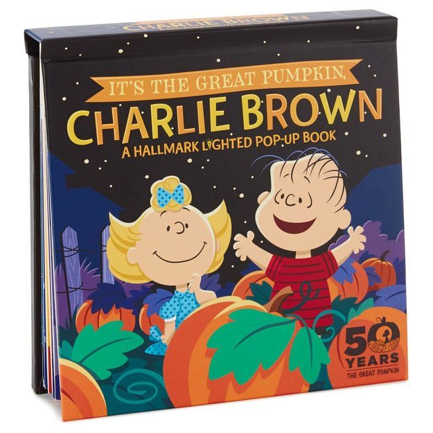 Peanuts® It's the Great Pumpkin, Charlie Brown™ Pop-up Book With Light