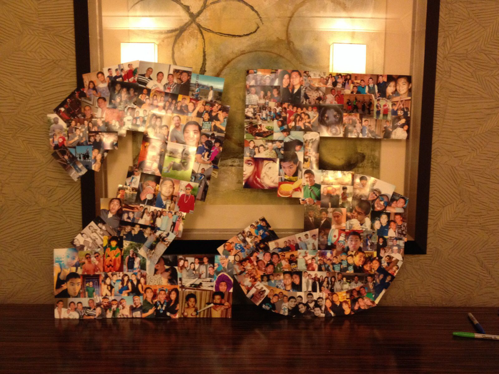 A 25 Picture Collage For The Boyfriends 25th Birthday My