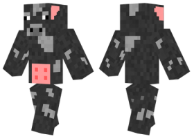 Minecraft Skins Cow Skin Png Image With Transparent Background Png Free Png Images Minecraft Skins Skins For Minecraft Pe Cow Skin