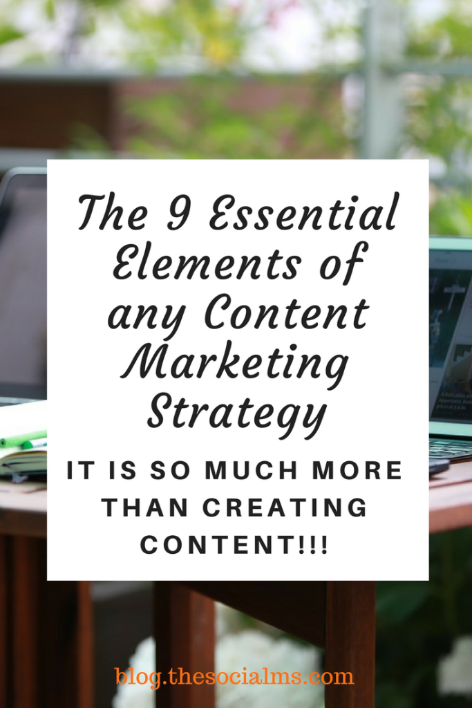 The  Essential Elements Of Any Content Marketing Strategy