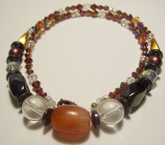 Women Brown Bronze Prism and Autumn Colors by ArtHouseCreations, $19.99