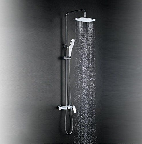 Blyc Solid Brass Multifunction Bathroom Luxury Rain Mixer Shower
