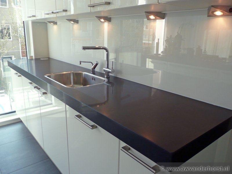 Achterwand Keuken Ideas : Achterwand keuken hoogglans wit home decor pinterest grout