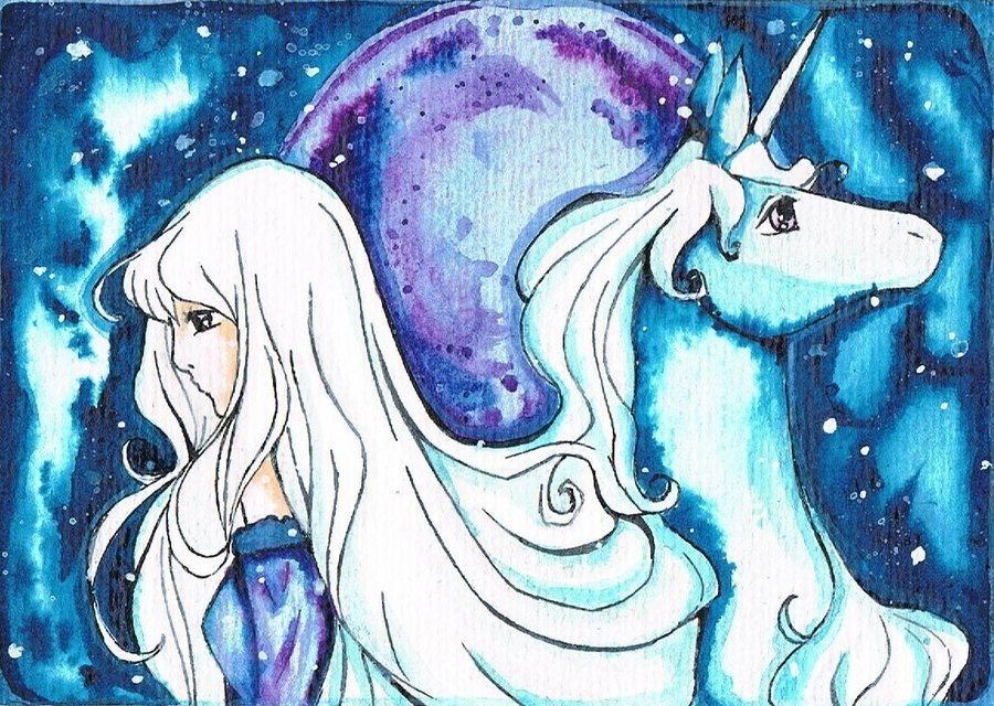 Last Unicorn By Sute87.deviantart.com On @deviantART