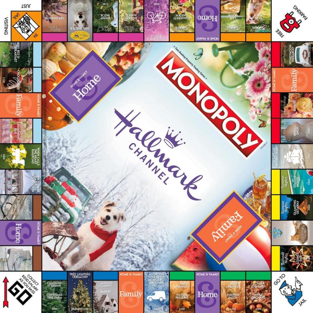 Monopoly Hallmark Channel Board Game Hallmark christmas