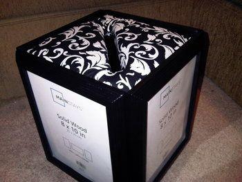 Diy Wedding Card Box Instructions Step 2 Attach The Cardboard To Foam Board Using Either