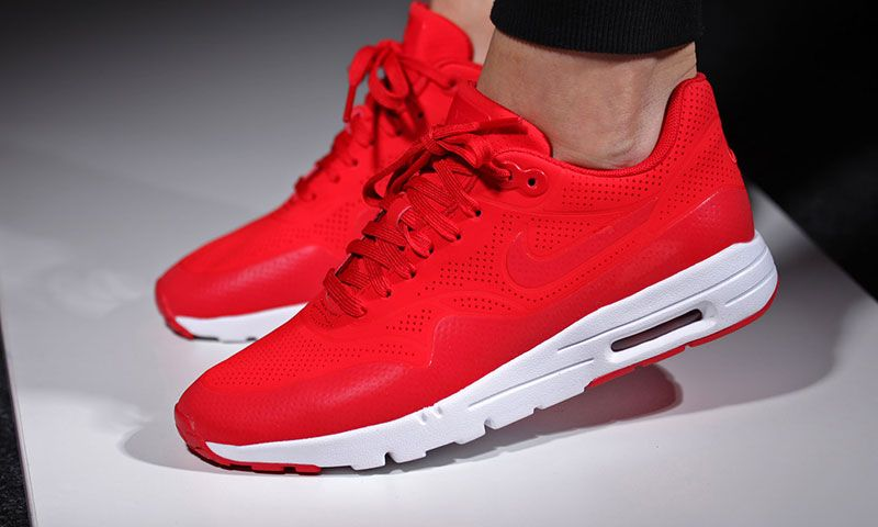 brand new 2dab1 d860c Nike Air Max 90 Ultra Breathe Bright Red University Red Womens Mens Shoes