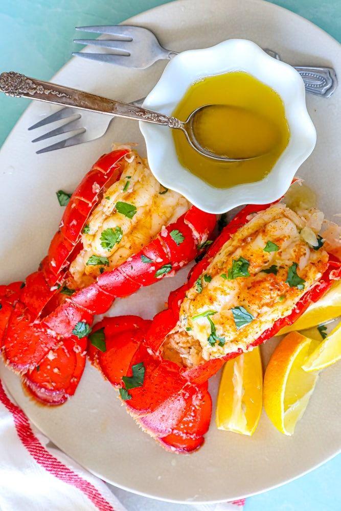 Easy Garlic Butter Lobster Skillet Recipe - main dishes #