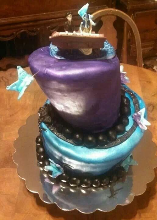 Corpse bride cake Cakes Ive made Pinterest Corpse bride and Cake