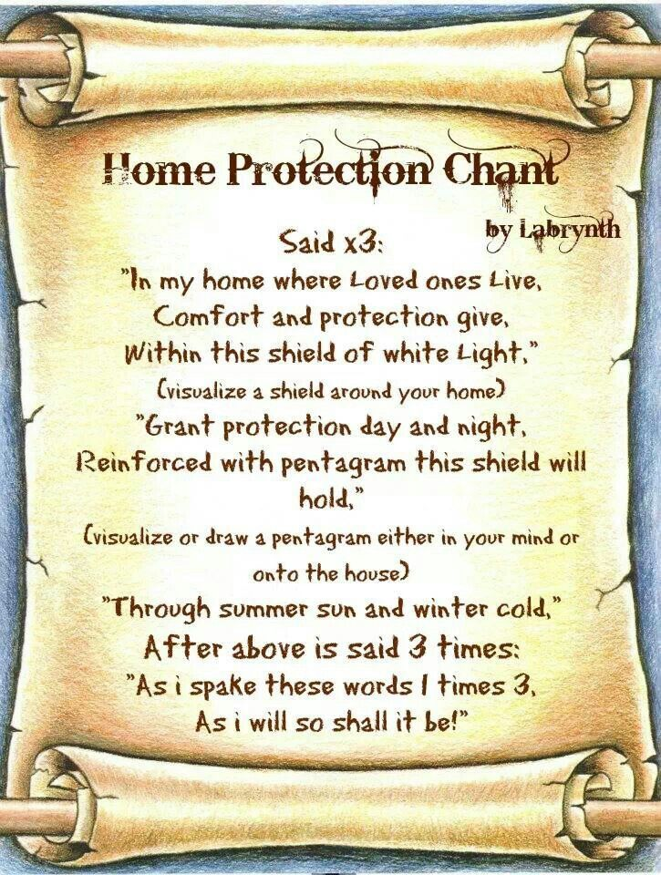 Wiccan Home Protection Spells Desktophd Today