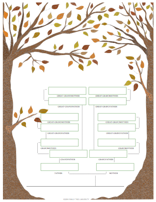 Family Genealogy Book Template Images Template Design Ideas