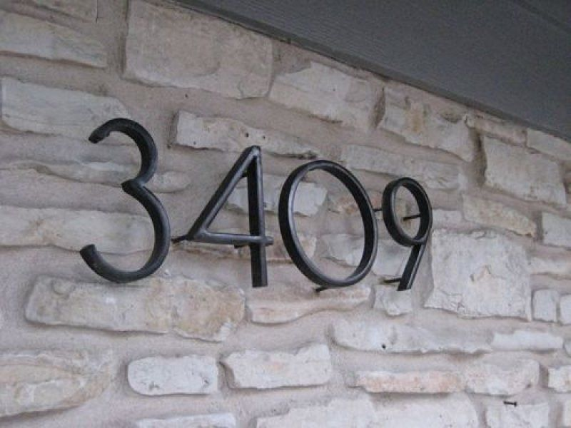 Exterior house numbers modern Home and house style Pinterest