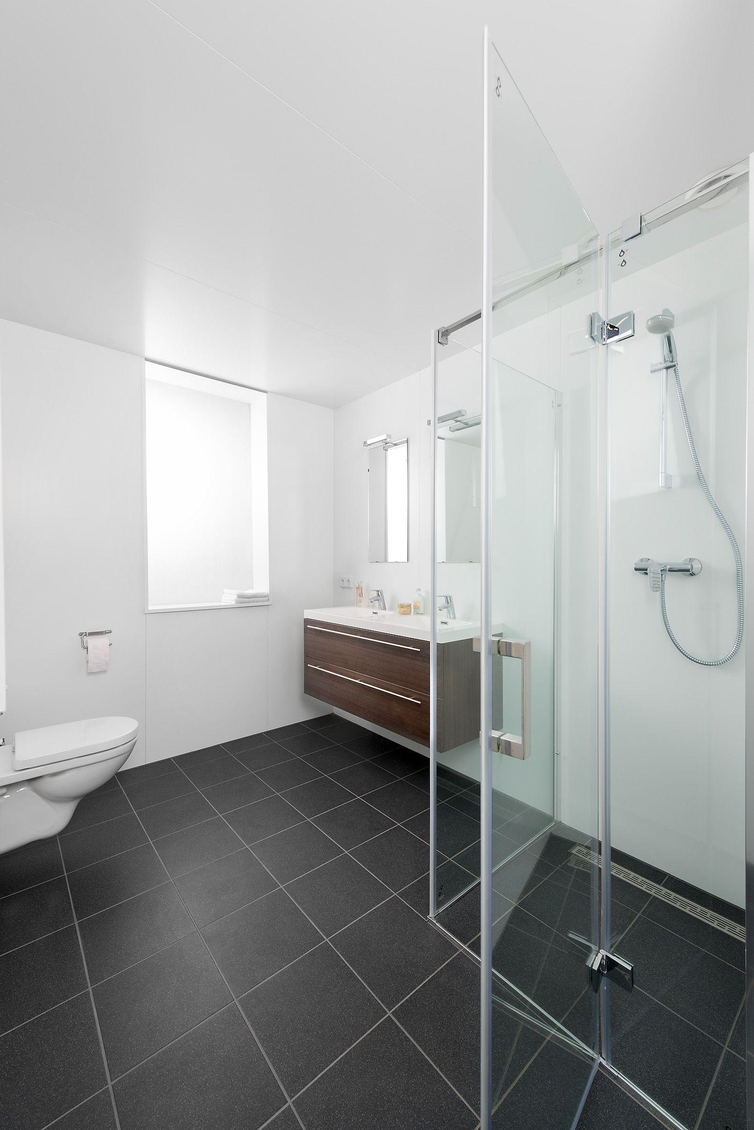 prefab badkamer voor de huursector www.mycuby.nl   Ontwerpen prefab ...
