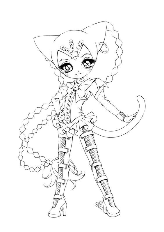 Tampons Coloring Pages Coloriage Manga Coloriage Et Colorier