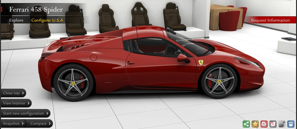 If I were to ever be lucky enough to own a Ferrari, this is the one