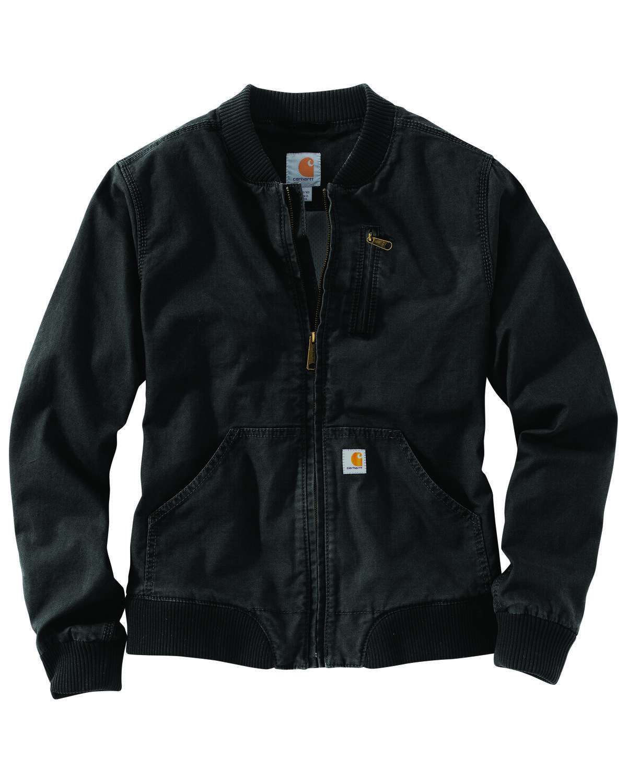 Carhartt Women S Crawford Bomber Jacket Carhartt Jacket Women S Coats Jackets Bomber Jacket [ 1500 x 1200 Pixel ]