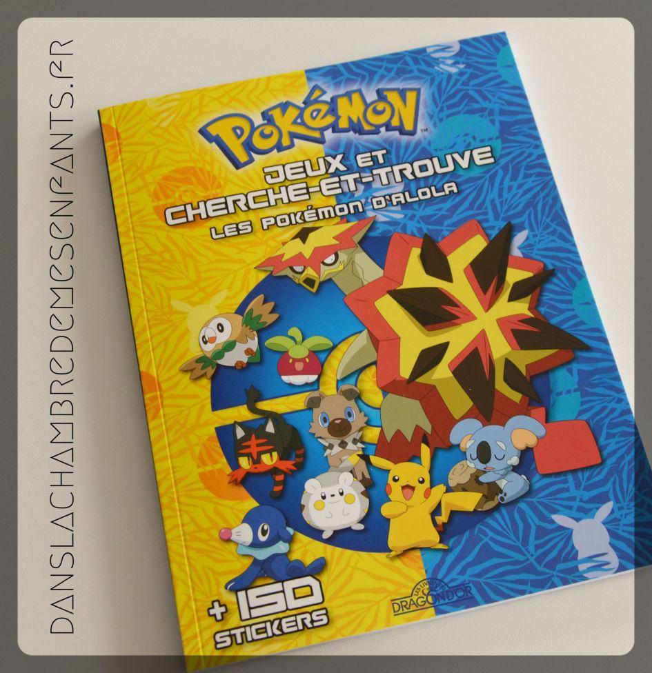 Les Pokemon D Alola Jeux Et Cherche Et Trouve Les