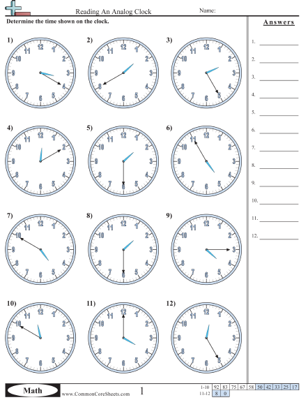 Time Worksheets Working On Printing Them All Tutors Worksheets And More At Www Tutorfrog Com Wor Time Worksheets Telling Time Worksheets Clock Worksheets