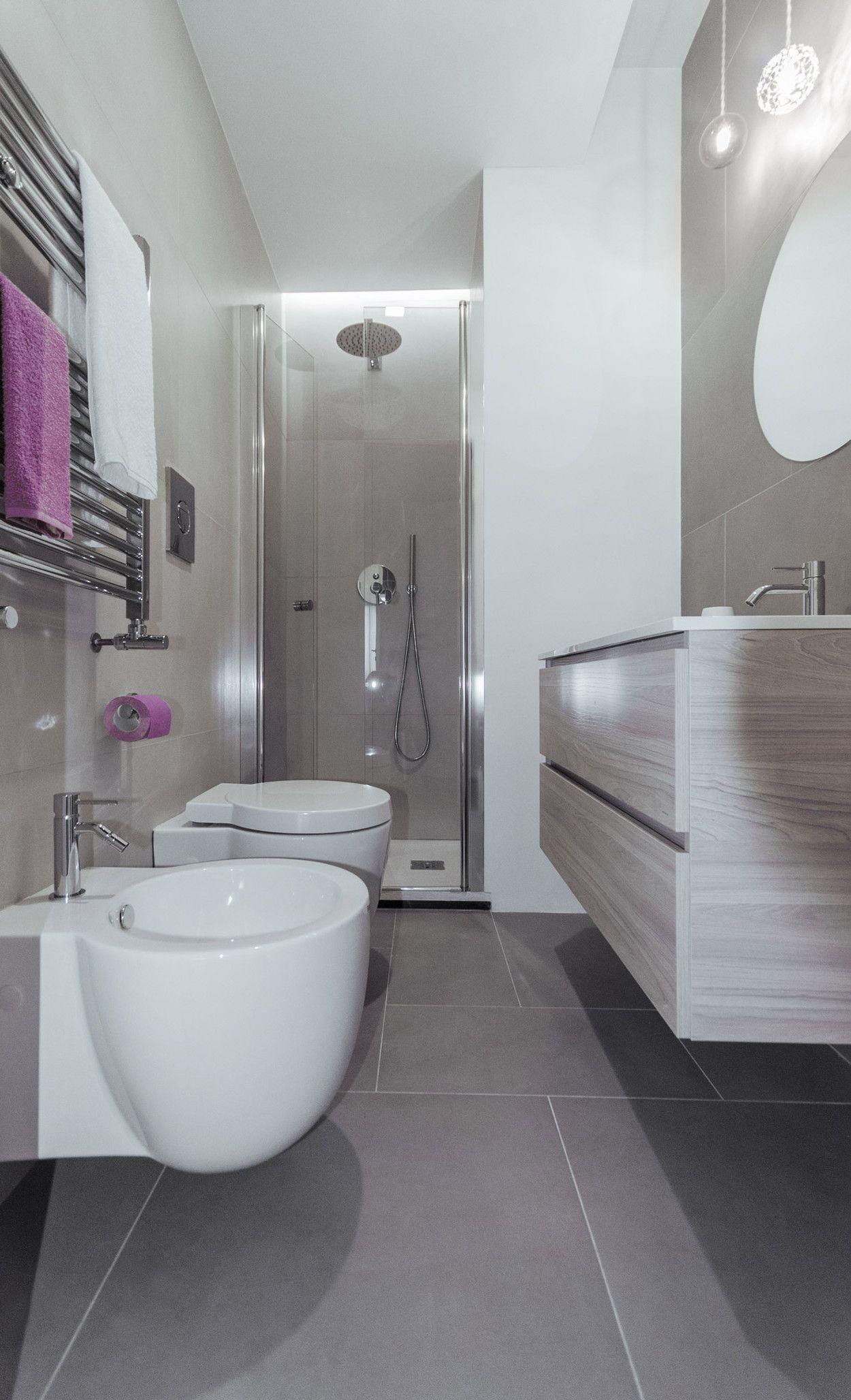 MINIMA | Architettura | Roma | Bagno design | ristrutturazione bagno | bagno piccolo