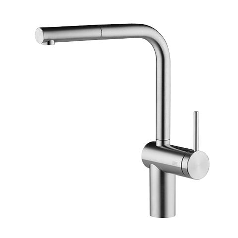 Kwc Livello Single Lever Mixer With Pull Out Spray Solid