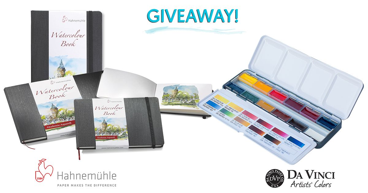 Watercolor Travel Sketching Giveaway Hahnemuhle Watercolour
