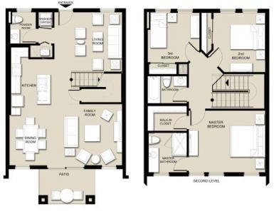 Topaz Beds: 3 Baths: 2.5 Price: $2,199 Size: 1,610 sq. ft.