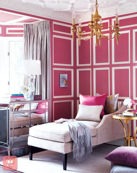 pinkkk | abcd | Pinterest | Wainscoting, Pink walls and Future