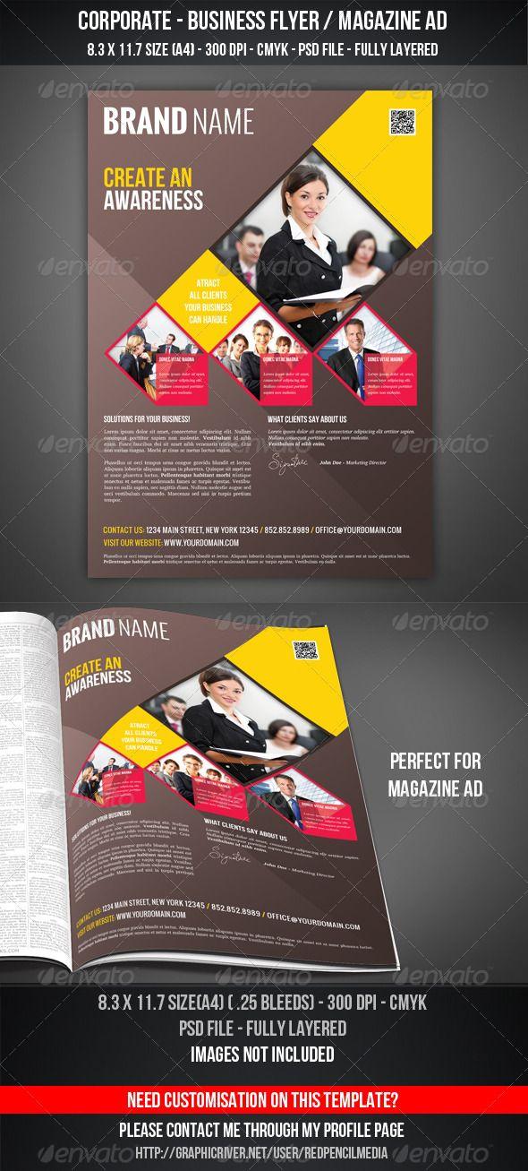 Corporate - Business Flyer / Magazine AD | Revelacion, Bazares y Dibujo