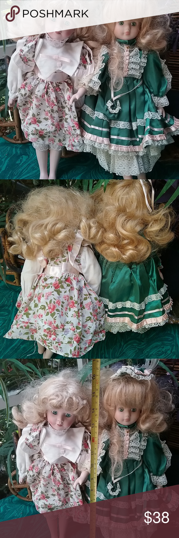 2 Vintage The Collection Porcelain Dolls Victorian 2 Vintages The Collection  Porcelain Dolls~Victorian Dressed 20  Beautifull !!! Other #dollvictoriandressstyles 2 Vintage The Collection Porcelain Dolls Victorian 2 Vintages The Collection  Porcelain Dolls~Victorian Dressed 20  Beautifull !!! Other #dollvictoriandressstyles
