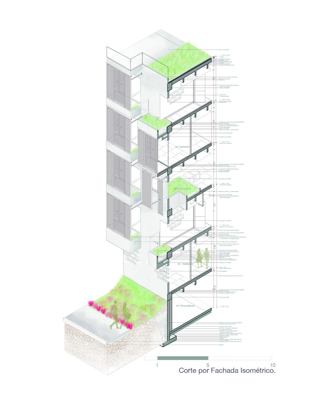 Corte por fachada cortes por fachadas pinterest corte por fachada pooptronica Images