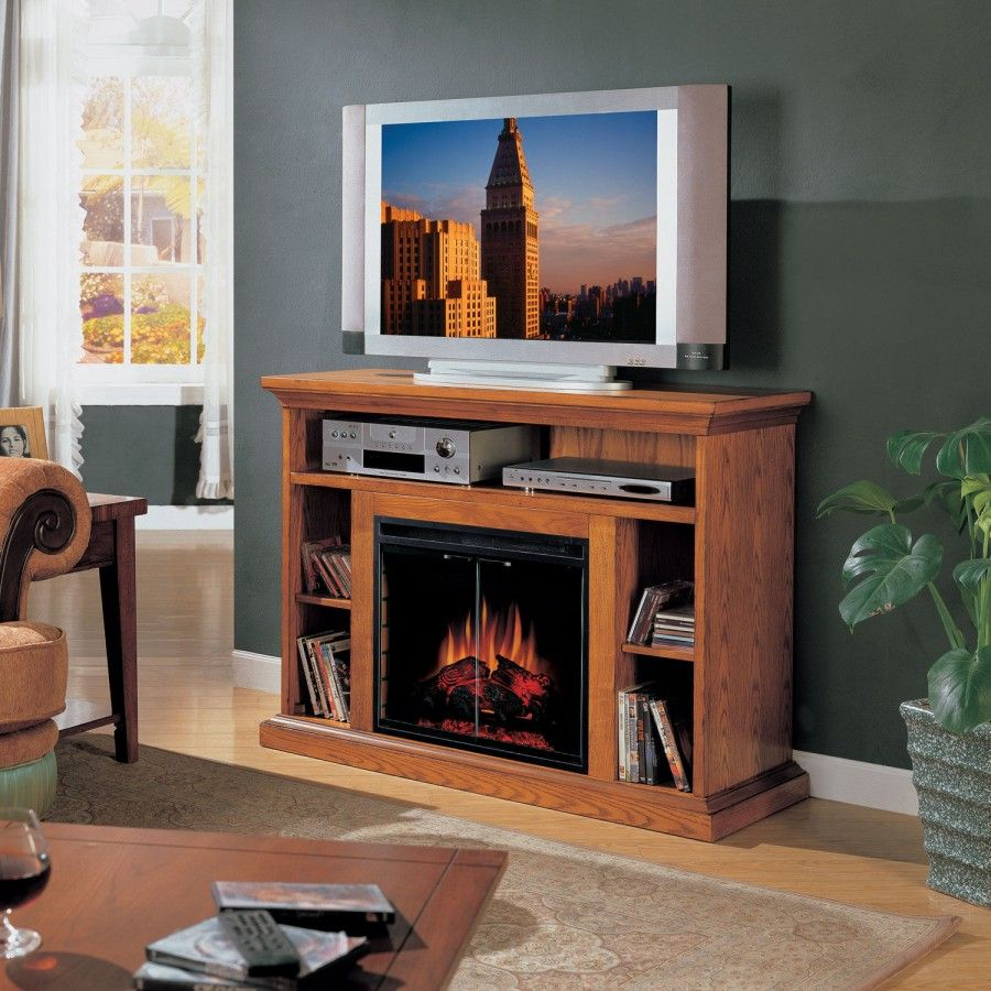 Classic flame beverly 48 fireplace tv stand in premium