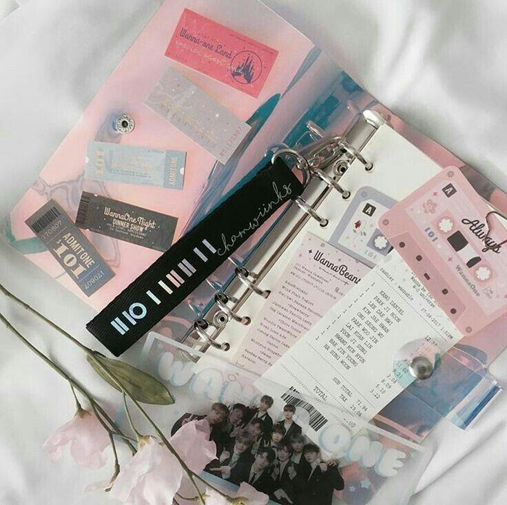 Pin by cuppacake on w1 | Kpop diy, Journal aesthetic, Kpop ...