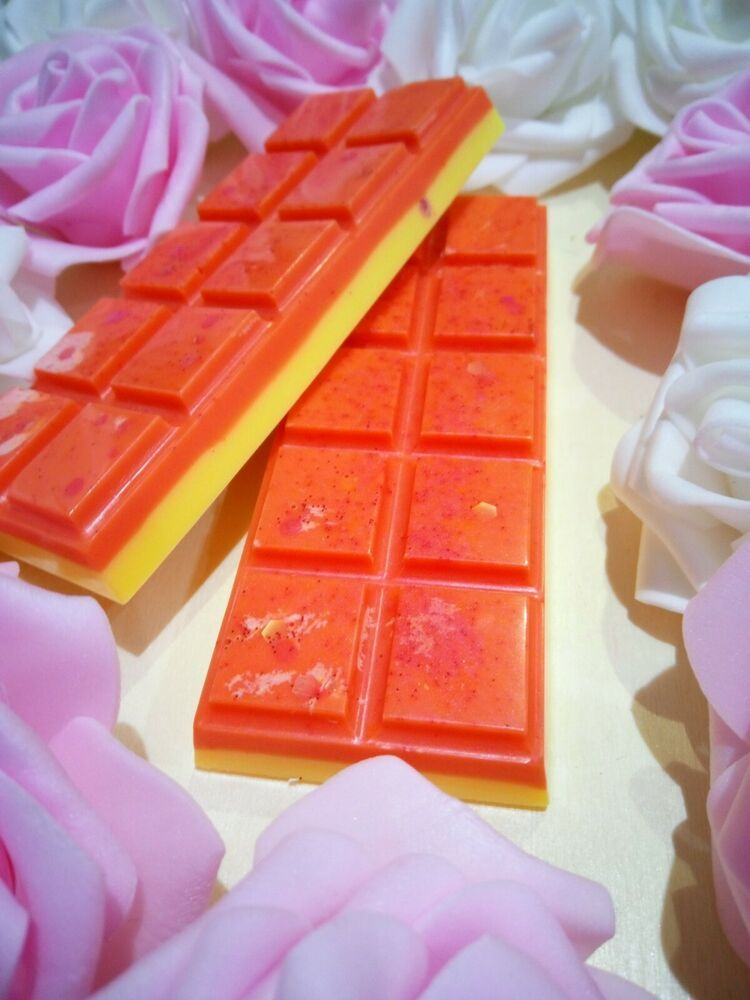 Hand-poured in the UK Max Scented Soy Tarts The Cutesy Co Wax Melts Snap Bars
