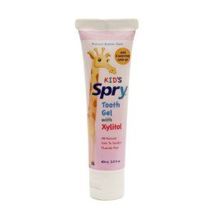 Xlear Spry Kid's Tooth Gel with Xylitol, Bubble Gum Flavor, 2oz (2 Pack) by Spry. $13.49. Spry Kid's Toothgel Bubble Gum Flavor, 2oz (2 Pack). Fluoride-free and SLS-free tooth gel for kids uses xylitol and calcium to gently clean and build the oral health of infants and children, and the delicious natural bubble gum flavor will help encourage your child's good dental hygiene. Part of the Spry Dental Defense System line of products, Spry Infant Tooth Gel has been specifical...
