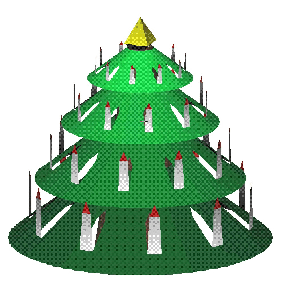 Xmastree paperino printables and templates pinterest craft