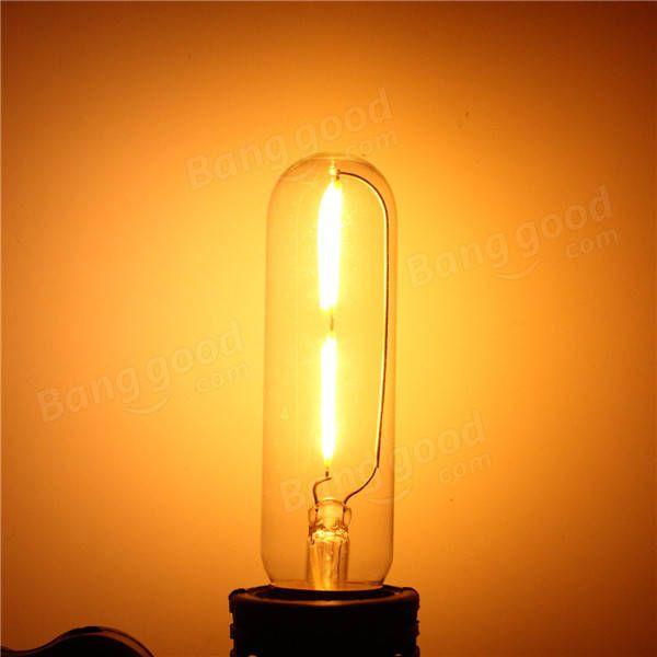 Us 3 80 E27 T10 2w Led Cob Filament Light Bulb Edison Vintage Retro Lamp Ac 220v Led Light Bulbs From Lights Lighting On Banggood Com