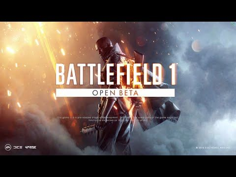 Battlefield 1 Open Beta Game Play Squad Leader Victory