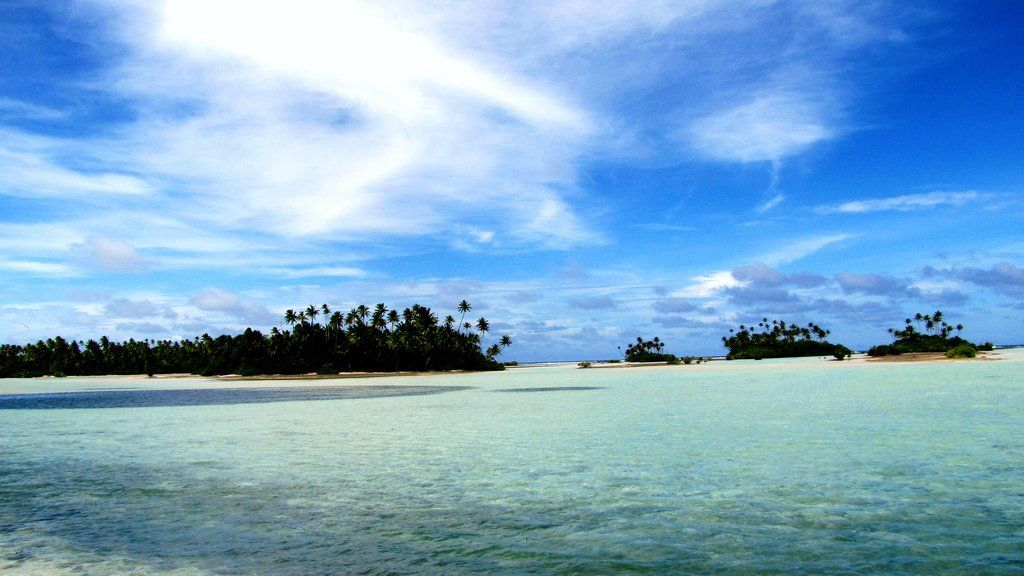 Kiribati    The president of Kiribati, Anote Tong, is in talks with Fiji's military government to buy up to 5,000 acres of land in order to relocate the 102,697 people that live in his country.
