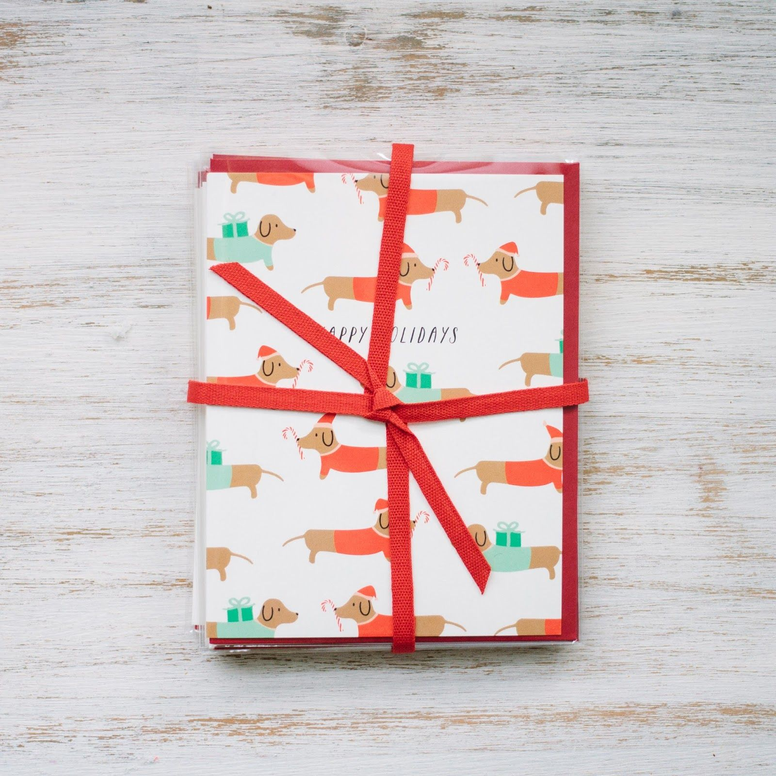Paula & Waffle // Holiday Cards