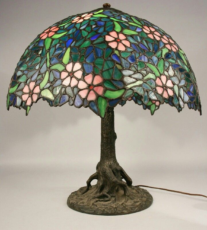 Handel lamp · stained glass