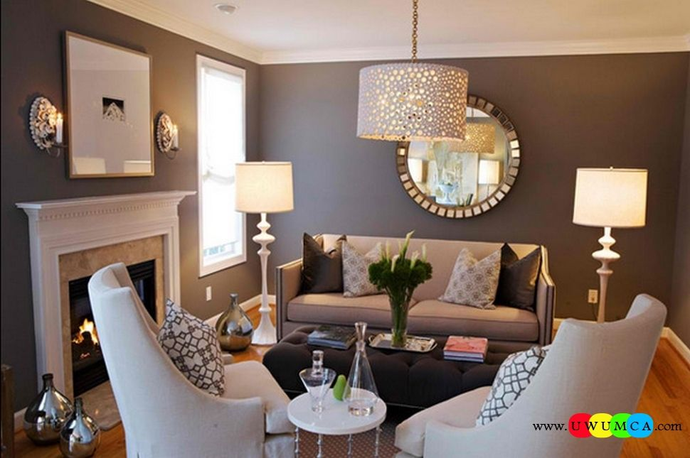 Decoration Decorating Small Living Room Layout Interior Ideas With