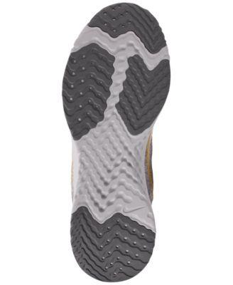 timeless design ce842 9f7e8 Nike Women s Odyssey React Metallic Premium Running Sneakers from Finish  Line - Black 6.5